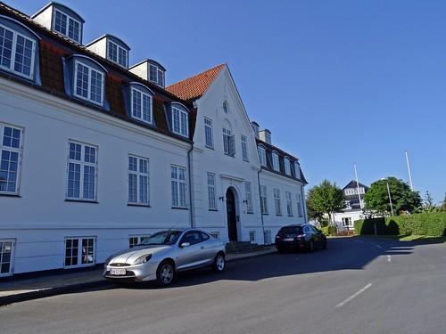 Færgegården blev til Husholdningsskole og Badehotel