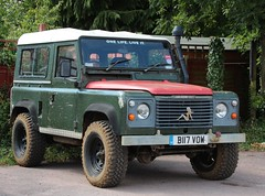 B117 VOW (Nivek.Old.Gold) Tags: hardtop diesel rover land 1985 90 2495cc