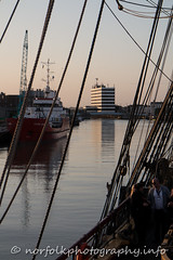 Great yarmouth Maritime Festival 2015 (Howie1967) Tags: sea reflection heritage tourism festival port river bure folk great maritime shanty local yarmouth yare breydon 2015