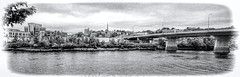 The skyline of Bangor, Maine, U.S.A. (Photographer South Florida) Tags: city urban usa skyline downtown realestate bangor maine panoramic centralbusinessdistrict commercialproperty