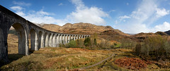 Glenfinnan Viaduct (Jchales.co.uk) Tags: panorama holiday colour canon landscape scotland landscapes view harry potter viaduct 7d glenfinnan 1755 2015 stitich
