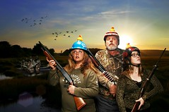 The Rubber Duck Daredevil Squadron Prepares to Bust the Hell out of some Ducks in the Manigotapi Marsh (Studio d'Xavier) Tags: 365 waterfowl duckhunting duckseason werehere 266365 duckmen duckcommander thisiswhyiloveautumn duckdynasty therubberduckdaredevilsquadron september232015