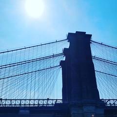 Brooklyn Bridge (Joe Shlabotnik) Tags: nyc newyorkcity bridge brooklyn brooklynbridge 2015 instagram september2015