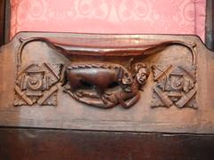 DSCN1905 (Richard Paul Carey) Tags: cathedral medieval carlisle misericords carvedwoodwork