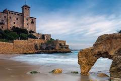 The Tamarit Castle (Nomadic Vision Photography) Tags: castle spain europe dramatic medieval historical tarragona jonreid tinareid nomadicvisioncom thetamaritcastle