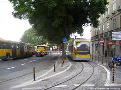 Cais do Sodr (ernstkers) Tags: carris ccfl lisboa portugal streetcar tram tramvia tranvia trolley elctrico strasenbahn 505 ccfl505 bonde sprvagn