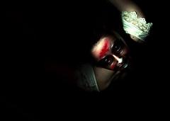 Day Fifteen (fotoJared) Tags: woman halloween girl night blood nikon october zombie ghost creepy killer horror demon murder 365 paranormal poltergeist strobist 365project