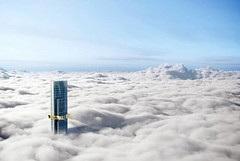Проект небоскреба Australia 108 в Мельбурне от Fender Katsalidis Architects
