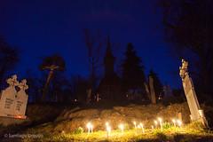 20150409_1126 (Zalacain) Tags: church cemetery night easter candles religion romania maramures poienileize