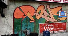 quickage-DSC_0387-DSC_0388 v2 (collations) Tags: toronto ontario graffiti rons kitkat