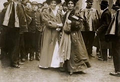 Christabel and Emmeline Pankhurst, c.1910.