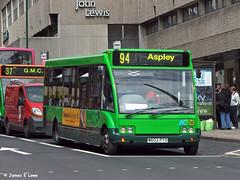 122 (W602 PTO) - Milton Street, Nottingham (didsbury_villager) Tags: nottinghamcitytransport 122 w602pto nottingham
