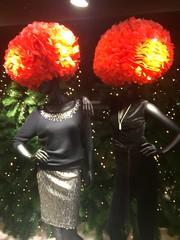 🎵 'We've all got wigs on, let's go...' 🎵 (markshephard800) Tags: city urban orange art fashion shop shopping hair lights scotland dummies shadows bright artistic glasgow models dramatic wig ms wigs mode bold shopdisplay shopdummies shopdummy