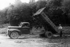 Laurence Robichaud's Truck (Brian Bowrin) Tags: truck vintage rita larry 1950s lr trucking laurence robichaud bowrin