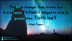 SpiritualCleansing.Org - Love, Wisdom, Inspirational Quotes & Images (SpiritualCleansing) Tags: life fiction truth stranger stick wisdom marktwain intelligent possibilities obliged