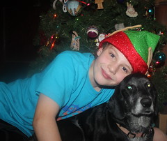 Skyler & Ginger photo of the day 12/12/2015 (Patches Madison) Tags: christmas tree ginger skyler