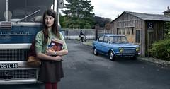 Sylvie Garnier (blaisearnold.net) Tags: france bus buses singer teenager 70s slc 1970s seventies simca solex adolescence autocar maineetloire anjou chausson rubettes saviem salutlescopains