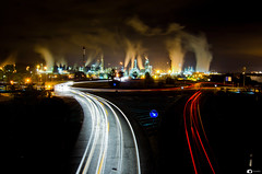 362/365 Until the end (Jose RL) Tags: longexposure lights luces noche smoke pollution nocturna 365 gibraltar refineria algeciras largaexposicion campodegibraltar 365project 365the2015edition 3652015