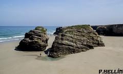 Playa de las Catedrales - Lugo(Spain) (P. HELLIN) Tags: lugo cantabrico spain ribadeo rocas playa catedrales