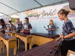 Adam's Marimba Summer Campers (marketkim) Tags: musicians eugene oregon saturdaymarket festival artfair eugenesaturdaymarket artfestival