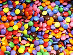 candy and colours (Lovely Pom) Tags: candy sweet colorful chocolate smarties food shape round treat halloween pattern bright