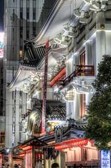 Kabuki Theatre Nocturne (akirat2011) Tags: japan tokyo ginza 5xp hdr