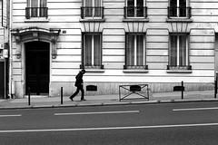 The man who walks (pascalcolin1) Tags: paris13 walk walking homme man rue street photoderue streetview urbanarte noiretblanc blackandwhite photopascalcolin