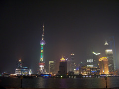 Pudong bei Nacht (loitz79) Tags: geo:lat=3123760000 geo:lon=12148656900 geotagged china chn huangpu huangpufluss nacht orientalpearltower pudong shanghai shanghaishi shanghaiworldfinancialcenter
