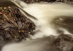 On the Rocks (Karen_Chappell) Tags: river nd110 longexposure water rock rocks autumn fall newfoundland nfld renniesriver stjohns