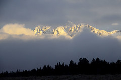 Cloud pillow for the peaks (V. C. Wald) Tags: grandtetonnationalpark sunrise winterstorm tamron16300mmdiiipzd