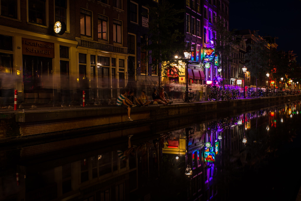 The world 39 s best photos of canal and nightlife flickr hive mind - The water street magical town in holland ...