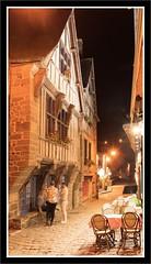 Rue du Petit Fort - DINAN (Gycess) Tags: dinan ctesdarmor bretagne france photodenuit nightphotography longueexposition longexposure