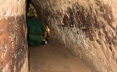 Cu Chi Tunnels (Xnalanx) Tags: asia cuchitunnels environment guide hochiminhcity manmade people places tunnel vietnam