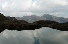 Fagaras Mirror (Richard Leese) Tags: romania fagaras transylvania transfagarasan mountains lake scenery hiking