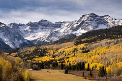 San Juan Mountains near Ridgway, CO a few weeks ago. (JoshTrefethen.com) Tags: san juan mountains near ridgway co few weeks ago