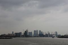 River Thames from New Charlton (Walruscharmer) Tags: riverthames riverscene skyscrapers canarywharf isleofdogs greaterlondon england