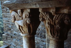 Monastary - southern France (Seleusleaf) Tags: columns capitals animal carvings