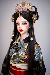 Hana no Hime (Amadiz) Tags: wig wigs amadiz amadizstudio abjd doll dolls dress fashion soom breccia japanese