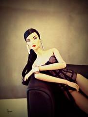 Elise J'adore la fete (Sylvano Bradshaw) Tags: fashion fashionroyalty fr fashiondoll elise jadorelafete fete jadore mademoiselle jolie ombre ombres poupee poetique jason jasonwu style moschino