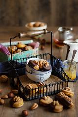 IMG_3866_exp (Helena / Rico sin Azcar) Tags: galletas cookies nueces nuts walnut naranja orange almendra almond chocolate vanilla vainilla mantequilla butter dessert food christmas
