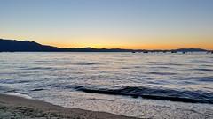 Tahoe Sunset (joe Lach) Tags: tahoesunset sunset tahoebeachandskiclub southlaketahoe lake alpine california water waterpictorial sand beach mountains joelach