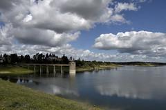 _DSC4059 (Joao Teixeira) Tags: barragem albufeira dam valedegaio alccerdosal alentejo portugal jooteixeira joaoteixeira photography water clouds mirror