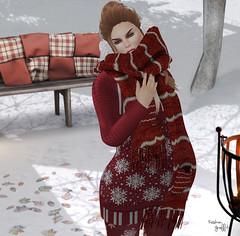 ~252~ Sweater Weather (Ana ~ Fashion Graffiti Blog) Tags: secondlife fashion belleza akeruka 7deadlys{k}ins phoenix ikon rirlifedesign thefrozenfair izzies zibska uber fashiowlposes tannenbaum