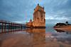 Lisboa - Torre de Belém (giuseppesavo) Tags: pentax pp9354 photivo linux ubuntumate gimp gmic k7 sigma816 sunset portogallo portugal lisboa lisbona belém torre tower tramonto fiume river
