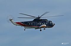 G-BFRI Sikorsky S-61N, British International Helicopters Ltd, Newquay Cornwall Airport, St. Mawgan, Cornwall