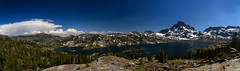 1000 Island Lake overview (speedcenter2001) Tags: highsierra sierranevada sierra california mountains wilderness anseladamswilderness backpacking hiking nature backcountry panorama johnmuirtrail jmt