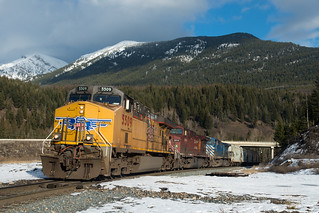 UP 5509, Sparwood BC