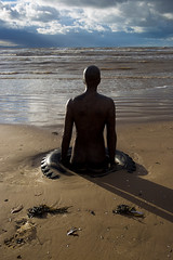 Anthony Gormley's Another Place (ProSession) Tags: crosbybeach anthonygormley merseyside castironstatue