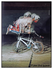 BOOMERANG (Derek Hyamson (5 Million views)) Tags: davejones boomerang multi bmx freestyle kirkby stadium mamiyac330