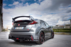 Honda Civic Type R (FK2) (Gatan Brunetti) Tags: voiture sport automobile automotive hothatch cars car sportscar sportscars turbo fwd l4 honda civic type r typer typerfk2 fk2 canon eos500d canoneos500d shooting